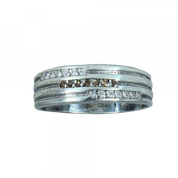 حلقه ازدواج با سنگ اتمی هفت رج