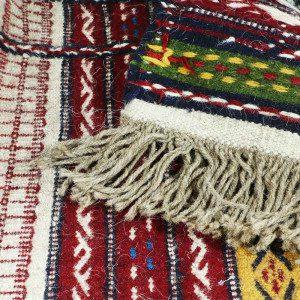 گلیم پشمی هفت رج