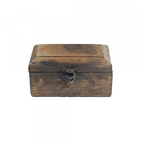 صندوقچهی کوچک چوبی هفت رج