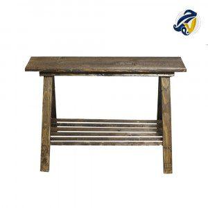 نیمکت چوبی هفت رج