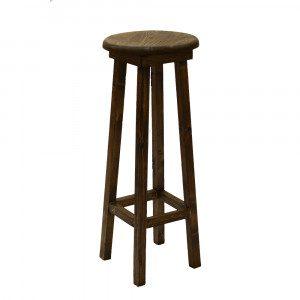چهارپایهی گرد چوبی طرح جدید هفت رج
